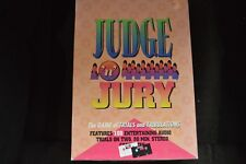 Judge 'N Jury Boardgame Trial Case Court 2 Cassette 2-4 Players Lawyer Complete