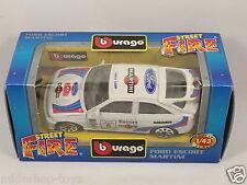 [PG3-9] BBURAGO BURAGO 1/43 STREET FIRE #4163 FORD ESCORT MARTINI (RALLY 4x4)