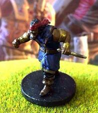 Bandit Captain D&D Miniature Dungeons Dragons pirate pathfinder storm rogue thug