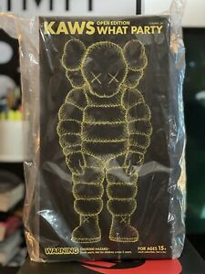 KAWS What Party Yellow Figure CONFIRMED ORDER