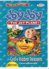 JAY JAY THE JET PLANE - God's Hidden Treasures -NEW/DVD