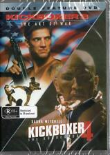 KICKBOXER 3 THE ART OF WAR & KICKBOXER 4 THE AGGRESSOR - NEW DVD FREE LOCAL POST