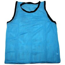 NEW SCRIMMAGE PRACTICE VESTS PINNIES SOCCER YOUTH LIGHT BLUE