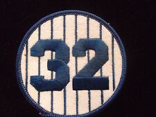 ELSTON HOWARD #32 Retired Number Yankees Jersey Patch
