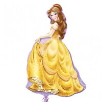 "Disney PRINCESS BELLE - Large - 39"" x 24"" - Foil HELIUM BALLOON Birthday Party"