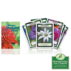 AUSTRALIAN BUSH FLOWER ESSENCES Flower Insight Cards - Carte Fiori Australiani