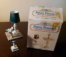 Vintage 1960's Petite Princess Fantasy Furniture Pedestal Table Set #4427-1