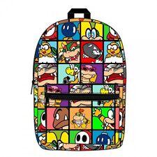 Nintendo Super Mario Villains Sublimated Backpack
