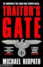 Traître's gate par michael Ridpath (paperback, 2014) nouveau livre