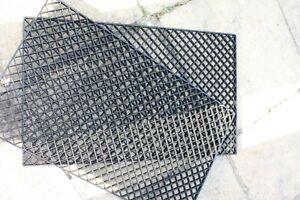 2 x DIAMOND CUT FILTER GRID EGG CRATE CORAL AQUARIUM TANK MARINE KOI POND FILTER