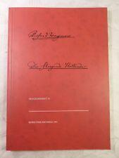 Der Fliegende Holländer, Programmheft VI, Bayreuther Festspiele 1992, 63 Seiten