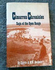 Cimarrom Chronicles Saga of the Open Range Kansas History Crooked Creek Valley
