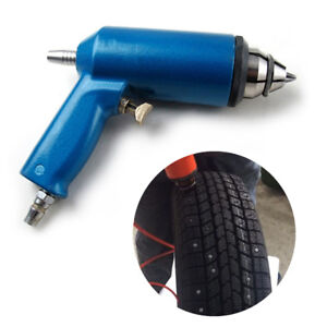 Winter Tire Shoes Spike Stud Installation Tool Air Gun Wrench for 8mm Tyre Screw