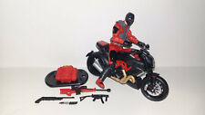 "G.I. Joe Loose Cobra NIGHT VIPER scale 3.75"" 1:18 Action Figure"
