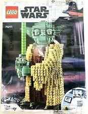 OEM Lego Yoda 75255 Original instructions Booklet Manual New Disney