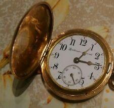 Golden Watch Burlington Special 1888-1898 Working