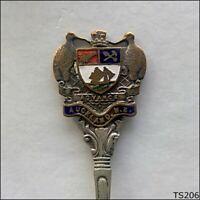 Auckland NZ Coat Of Arms Souvenir Spoon Teaspoon (T206)