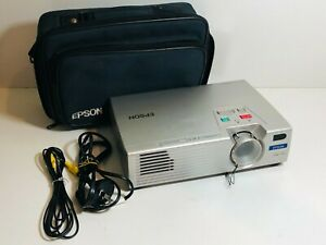 Epson PowerLite EMP-730 2000 Lumen 1080i Home Theater 3LCD XGA Projector REMOTE