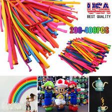 400Pcs Party Long Animal Tying Making Balloons Twist Latex Balloon DIY Decor USA