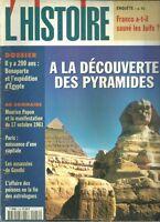 Les Collections de l'histoire - A LA DÉCOUVERTE DES PYRAMIDES -  N°216
