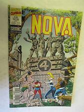 Nova Numéro 209 du 5 Juin 1995 (Le Surfer d'Argent,Les Fantastiques)  /SEMIC