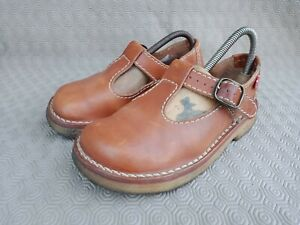 DUCKFEET HIMMERLAND Brown Calfskin Leather Women's Shoes Size 37 US 6.5