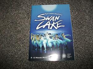 Swan Lake theatre programme (Matthew Bourne production, Jonathan Ollivier)