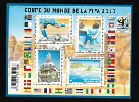 Bloc Feuillet 2010 N°F4481 Timbres France - Coupe du Monde de la Fifa 2010