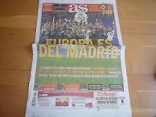 DIARIO AS SUPERCOPA DE EUROPA 2017,REAL MADRID. NUEVO.