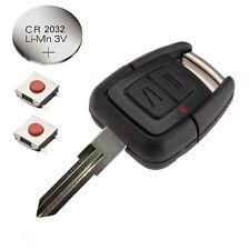 Fits Vauxhall Opel Zafira 2 Button Remote Key Fob Full FIX KIT YM28 blade