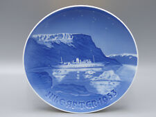 "B&G Bing & Grondahl 1953 ""Royal Boat"" Christmas Collector Annual Plate"