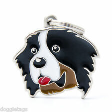 Bernese (Berner) Dog ID Tag - Engraved FREE - Personalised Identity - Charm