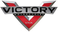 "VICTORY MOTORCYCLES USA ""V"" DECAL - TINY - SET OF 2"