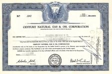Century Natural Gas & Oil Corporation