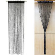 cortina de la puerta de hilos intensos de plata Cortina plana Cortina de alambre