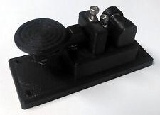 NEW Lightweight Micro Black Morse Code Telegraph Key MADE IN USA