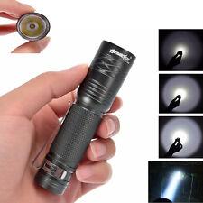 CREE T6 3000 Lumen 3 modalità Tattico Torcia Brillante Potente Lampada 14500