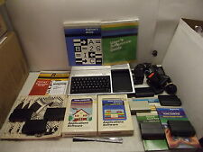TEXAS INSTRUMENTS TI-99/4A HOME COMPUTER JOY STICKS SOFTWARE CARTRIDGES MANUALS