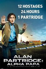 ALAN PARTRIDGE ALPHA PAPA MOVIE POSTER ~ HOSTAGES 24x36 Steve Coogan