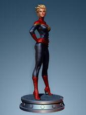 "BOWEN Designs_CAROL DANVERS: Captain Marvel 12"" Exclusive Limited Edition Statue"