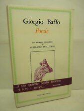 BAFFO / APOLLINAIRE : POESIE - SUNDAY PRESS - POESIA