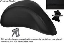 Negro Stitch Custom encaja Piaggio X9 125 250 500 necesidades respaldo cubierta