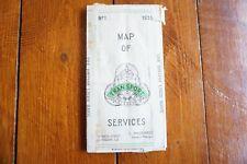 More details for 1931 glasgow transport city centre map tram bus coach routes