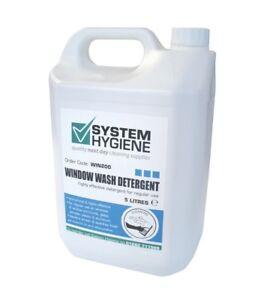 System Hygiene Window Glass Screen Wash Detergent Neutral Streak Free 5 litre