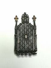 Magnifique Reliquaire Ancien En Argent Et Or très rare