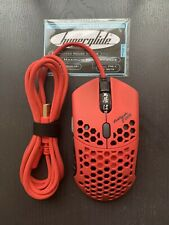 Finalmouse Ninja Air58 Cherry Blossom Red with Hyperglides *800 DPI ONLY*