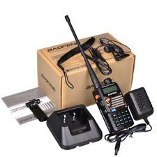 Portable Handheld Two Way Radio Scanner Police Fire Ham Uv-5Ra+ Plus Transceiver