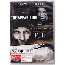 DVD 3 MOVIE COLLECTION: APPARITION/ RITE/CONJURING Horror 3-Dvds REGION 4 [BNS]