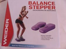 WEIDER BALANCE STEPPER BY WEIDER FITNESS PORTABLE NEW