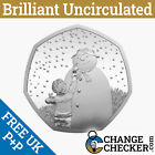 Naked Snowman BU 50p 2021 Coin Brilliant Uncirculated - No Packaging Pre-Order
